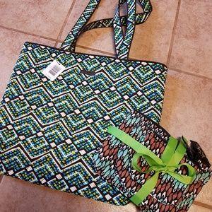 New Vera Bradley Travel Bag Bundle